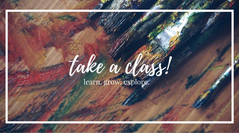 take a class!